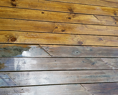 Wood Deck Washing, Composite Deck Cleaning, and Fence Cleaning